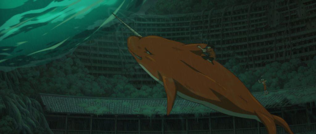 Duża ryba i begonia7