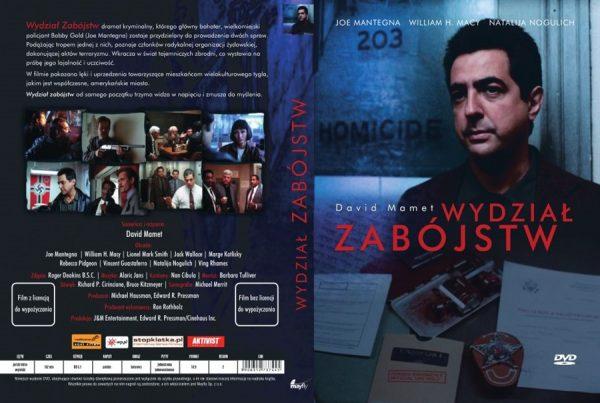 WYDZIAŁ ZABÓJSTW (DVD)-1
